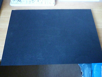 Large Black Foam Crafting Mat- 28Cms X Approx 45 Cms-1Cm Thick.