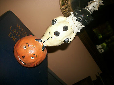 bethany lowe halloween 2003-JACK AND CAT. exc. cond. naed and dated bottom.
