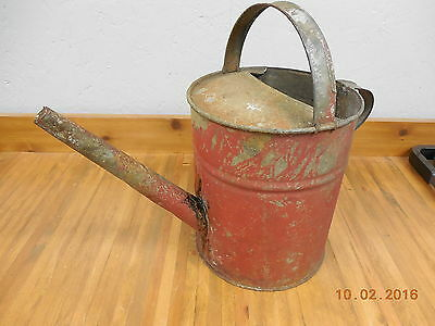 Vintage Galvinized Watering Sprinkling Can  (A) #