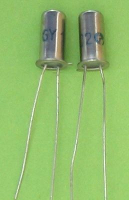 20 of GY102 germanium rectifier-diode  75V/0,1A  RFT
