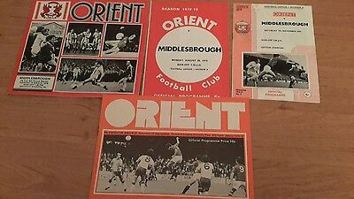 4 - Orient Programmes from 1970's