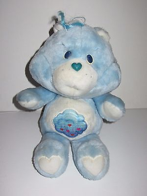 "Vintage 1983   Care Bears    Grumpy Bear   13"" Soft Toy  Kenner"