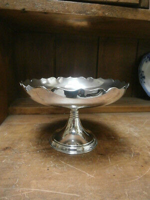 James Dixon & Sons silver plate Compote