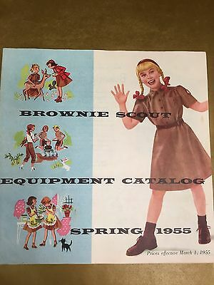Girl Scout Brownie Scout Equipment Catalog-1955