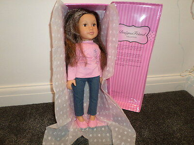 Design a Friend Olivia Doll In Outfit.Mint Condition.Chad Valley.BOXED