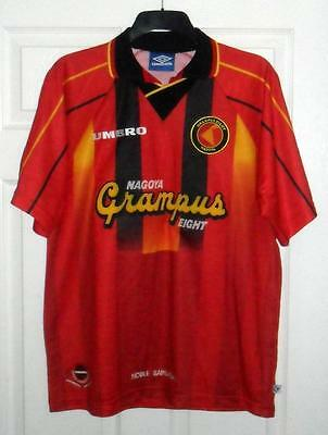Nagoya Grampus Eight 1996-1998 Home Football Shirt Size L 44/46