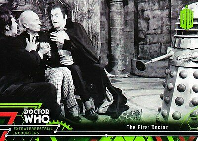 Doctor Who Extraterrestrial Encounters - Basic Trading Card Set