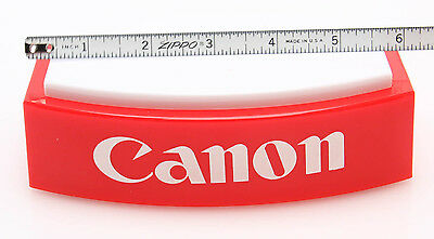"""Canon Display Stand/platform, red & White plastic, 6x4x2h"""", new"""