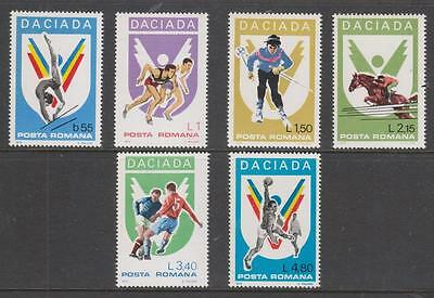 "ROMANIA - 1978. ""Daciada"" Games - Set of 6, MNH"
