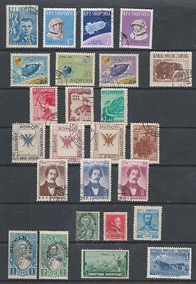 ALBANIA - 25 x Mint & Used Stamps - Early-1960s