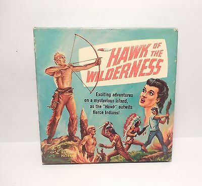 Vintage 8mm Hawk of the Wilderness Republic Pictures