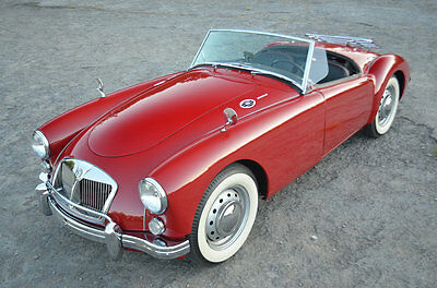 1962 MG MGA (Red) OUTSTANDING EXAMPLE OF A WELL SORTED STUNNING MGA MKII 1600 ROADSTER