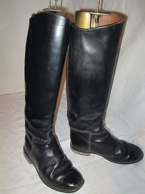 Regent Leather Riding Boots Size Uk 6.5