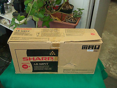 GENUINE Sharp AR-168NT Black Toner to AR-168D AR-168S New in Box