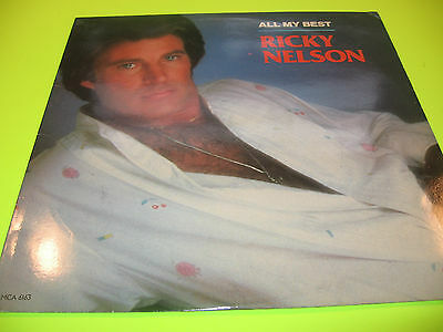 1986 Mca Collector Record - Ricky Nelson - All My Best