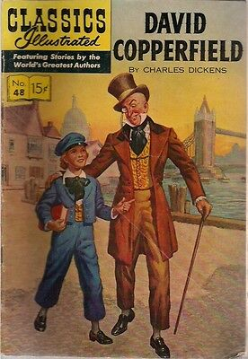 CLASSICS ILLUSTRATED #48 David Copperfield by Charles Dickens (HRN 148) 1948