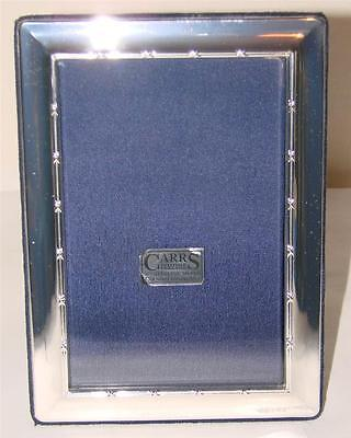 Silver Hallmarked Carrs Of Sheffield Photo Frame