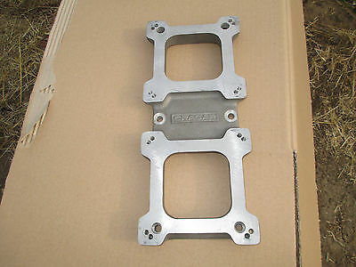 NEW! CRAGAR 2x4 Blower Carburetor Top Plate Cover 671/871 Supercharger Drag Race