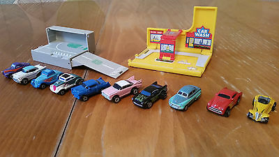 Lot #9 Micro Machines X10 Vehicles Hot Rods and Classic Cars job lot Shell oil