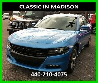 2016 Dodge Charger R/T PLUS 16 R/T PLUS NAVIGATION SUNROOF HEATED LEATHER