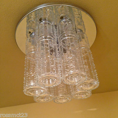 Vintage Lighting 1970s foyer glam by Lightolier