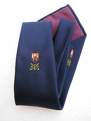 Golf Tie - A V G S  Club Tie  -  Collectable