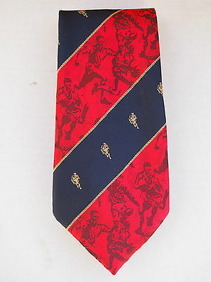 VINTAGE RUGBY TIE  - COLLECTORS  RUGBY  RUFC  RLFC  FAN  ITEM - Xmas Present !