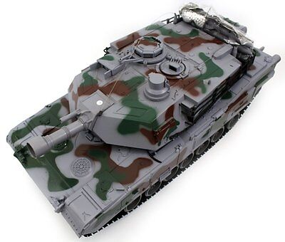 "32"" Giant Panzer Military Battle Tank (Blue) R/C War Shooter Toy Radio Vehicle"