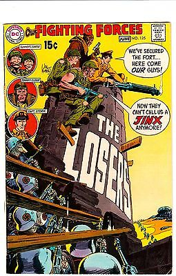 OUR FIGHTING FORCES #125 Loser's GUNNER & SARGE Cloud STORM 1970 DC COMICS VG