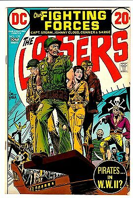 OUR FIGHTING FORCES #139 The LOSERS Joe Kubert PIRATES IN WWII 1972 DC COMICS VG