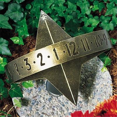 Whitehall Products 01268 Sun Clock Sundial French Bronze