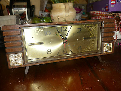 Vintage Rhythm Bell & Music Mantle Winding Alarm Clock, Made in Japan - Vic.
