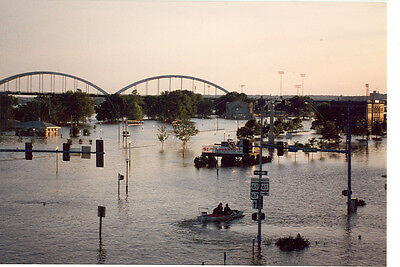 Iowa/ Illinois Great Flood Disaster 1993 Mississippi River(D39)