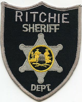 Ritchie County West Virginia Wv Sheriff Police Patch