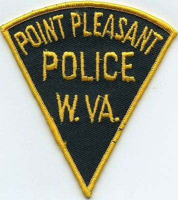 old vintage POINT PLEASANT WEST VIRGINIA WV POLICE PATCH