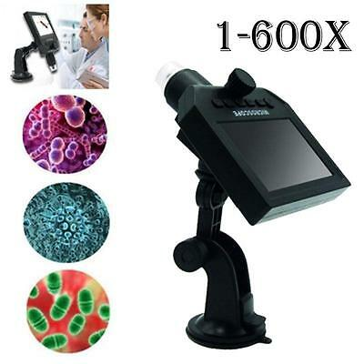 G600 3.6 Mega Pixel LCD Digital Microscope 1080P/720P Video Camera Recorder