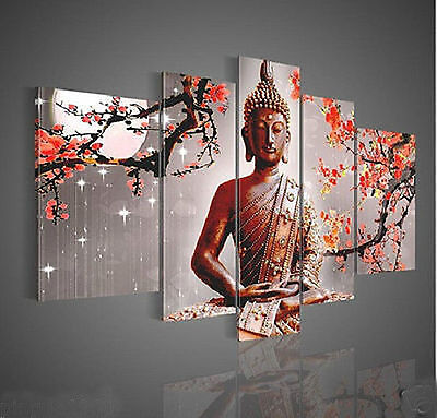 Wall Art Religion Buddha Oil Painting On Canvas(no framed)  058