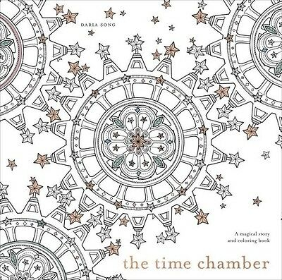 Time Chamber: Magical Story & Coloring Book - Daria Song (2015, Livre NEU)