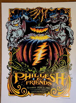 Phil Lesh And Friends - 2016 - Halloween - Aj Masthay - Capitol Theatre -Furthur