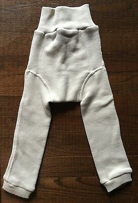 Storchenkinder Organic Wool Pants - Cloth Diaper Cover Soaker Longies - GMD