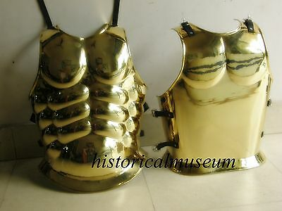 Roman Muscle Armor Brass Greek Muscle Hm76 Collectible Reenactment Larp Costume