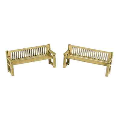 Metcalfe PO503 OO/HO Park Benches (x2) Laser Cut Mini Kit