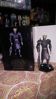 Star Wars Savage Opress Clone Wars Maquette from Gentle Giant