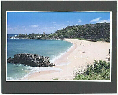 "WAIMEA BAY NORTH SHORE HAWAII SCENIC GICLEE PHOTO BY PHOTOGRAPHER ON 8x10"" MATT"