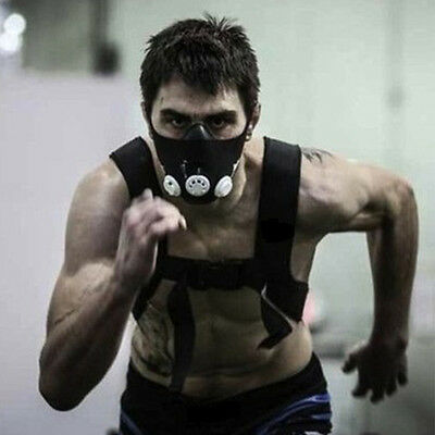 Training Mask 2.0 High Altitude Fit Exercise Fitness Size M Elevation