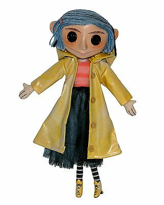 CORALINE DOLL LIMITED coraline EDITION NEW BOXED NECA RARE FIGURE TOY