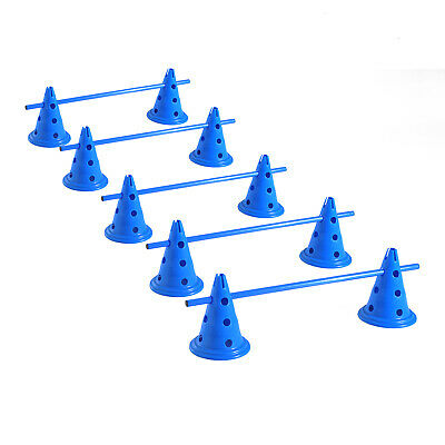 Pawhut Set of 5 Dog Agility Equipment Jumps Kit Indoor Pet Training Sets Course