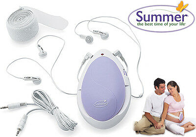Summer Infant HEART TO HEART PRE-NATAL LISTENING SYSTEM Maternity/Pregnancy BN