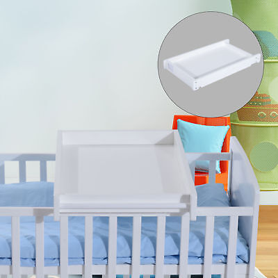 HOMCOM Baby Toddler Changing Table Infant Wood Board Diaper tables Drawer