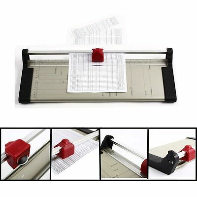 A3 Precision Paper Guillotine Cutter Trimmer Photo Card Home Office Arts Crafts